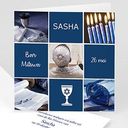 Aankondiging Bar Mitzvah Symbolen
