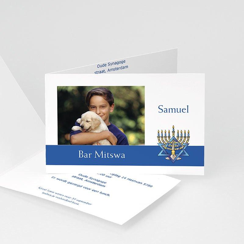 Uitnodigingen Bar Mitzvah Yavné