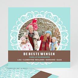 Wenskaarten Kerst wenskaart 3503