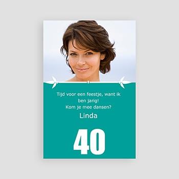 Verjaardagskaarten volwassenen Verjaardagskaart 40
