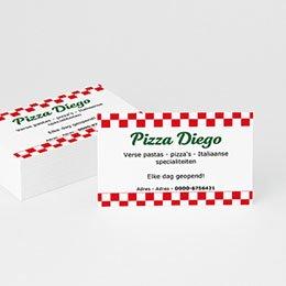 Visitekaart Professionnel Pizza
