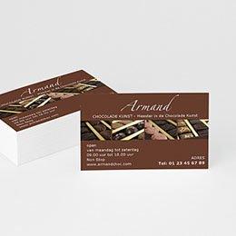 Visitekaart Professionnel Chocolademaker