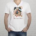 T-shirt met foto - Kerstkaartje Kerstwens 2220 13820 thumb