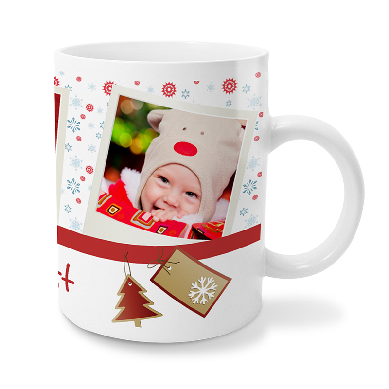 Gepersonaliseerde Fotomokken Kerst 2253