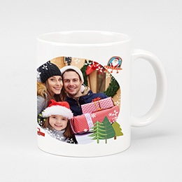 Personaliseerbare mokken Kerst 2252
