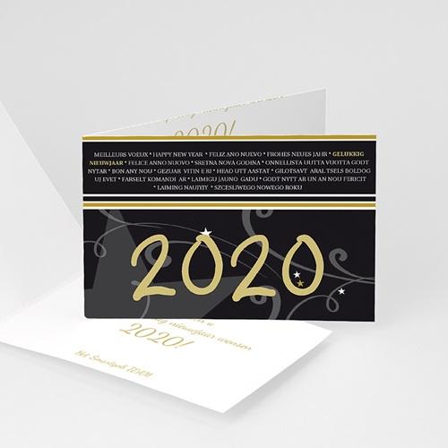 Professionele wenskaarten - Nieuwjaarswens producten 1722 13914 thumb