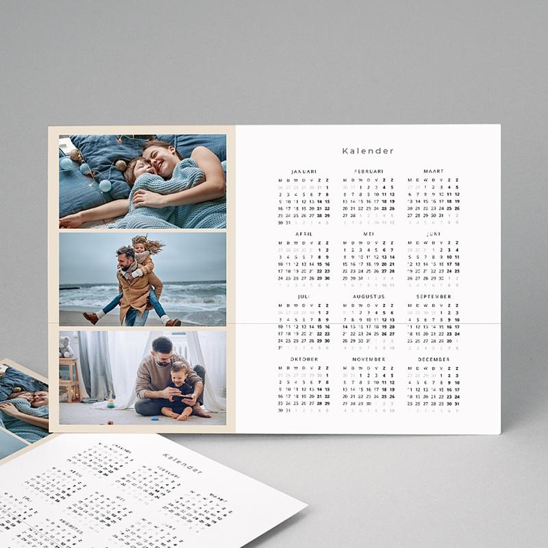 Kalender jaaroverzicht Kalender 755
