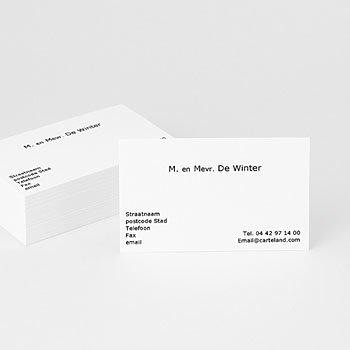 Visitekaartjes - Visitekaartje 940 - 1
