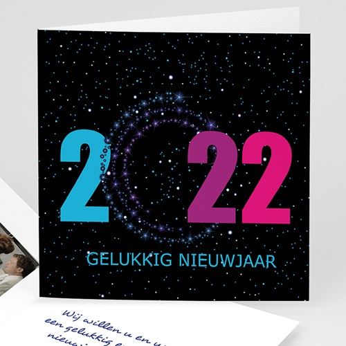 Professionele wenskaarten - Gelukkig nieuwjaar  13994 thumb