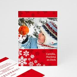 Wenskaarten Kerst Rode kerst