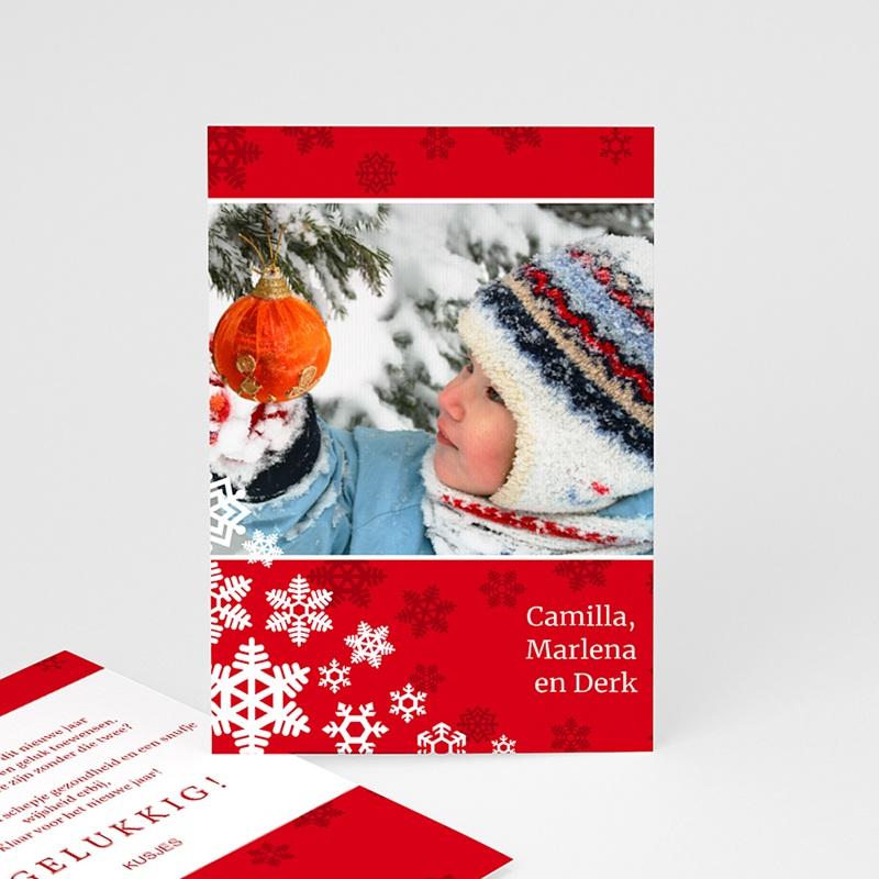 Kerstkaarten 2019 - Rode kerst 14014 thumb