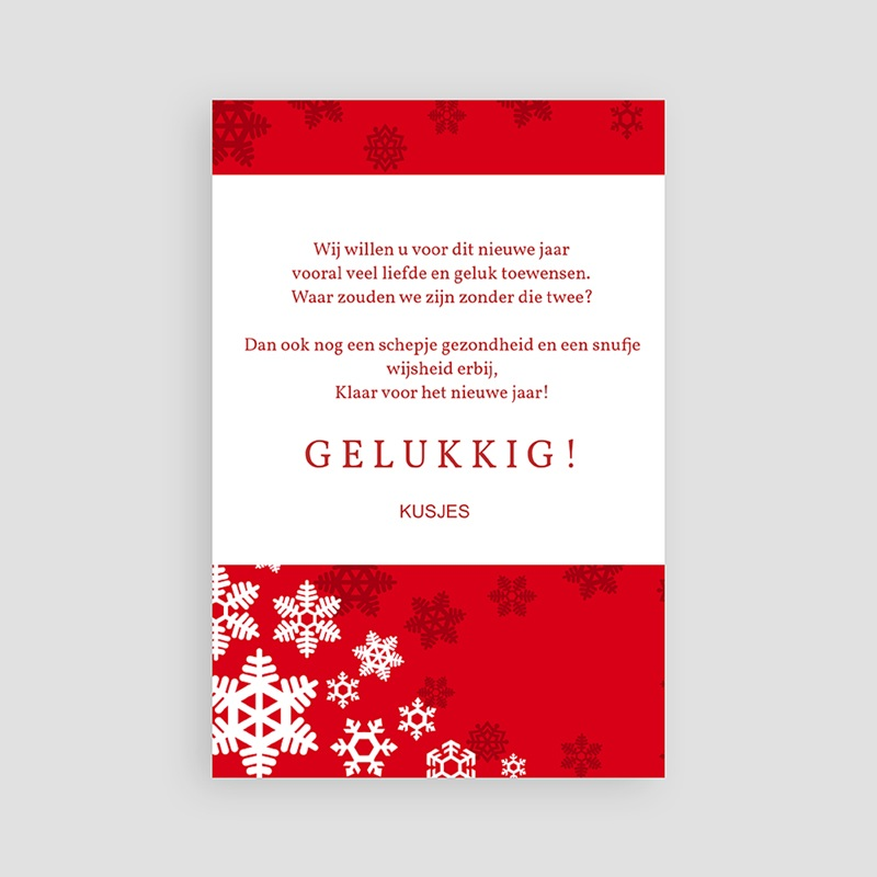 Kerstkaarten 2019 - Rode kerst 14015 thumb