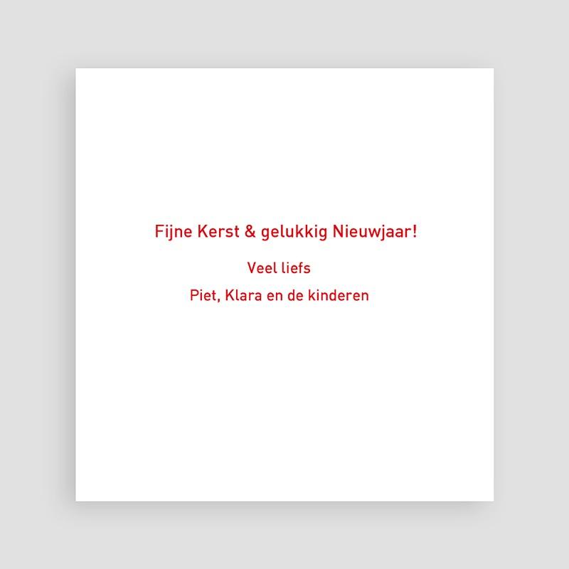 Kerstkaarten 2019 - Ruitjesmotief 14023 thumb