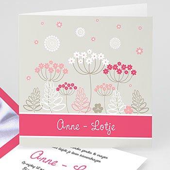 Geboortekaartje meisje - Anne - Lotje geboortekaartje meisjes - 5
