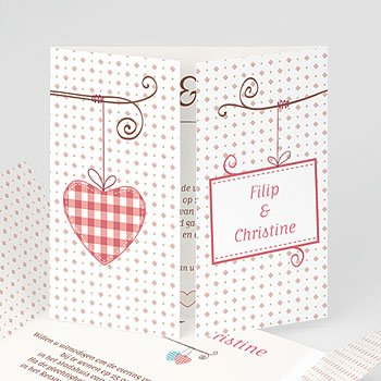 Personaliseerbare trouwkaarten - Vintage liefde - 1
