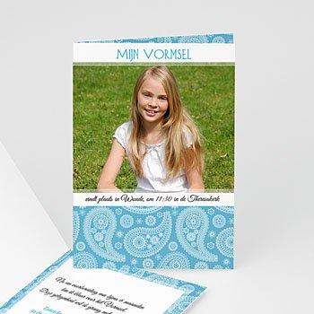 Vormsel - Paisley blauw - 5