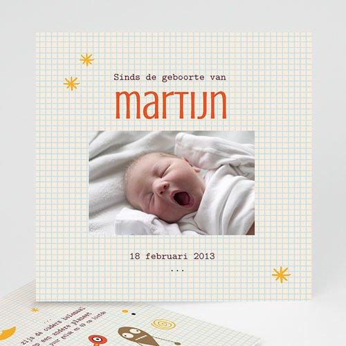 Geboortekaartje jongen - geboorte Martijn 14849 thumb