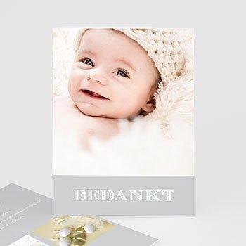 Bedankkaart doopviering jongen - Lief meisje doop - 5