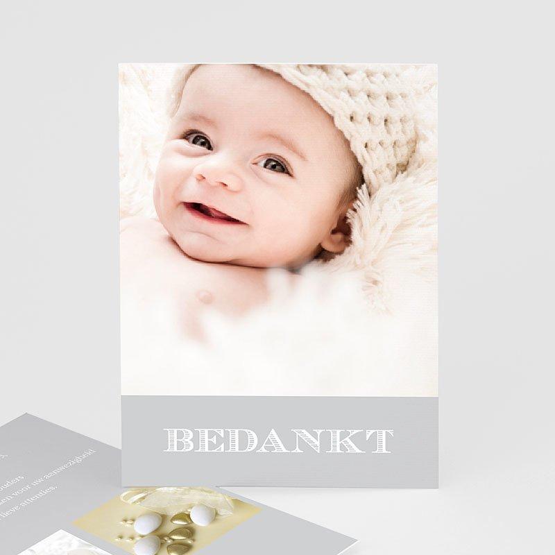Bedankkaart doopviering jongen - Lief meisje doop 14948 thumb
