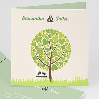 Trouwkaarten Groen - Appelbomen Lief - 5