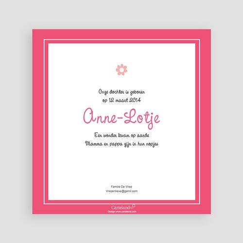 Geboortekaartje meisje Anne - Lotje geboortekaartje meisjes pas cher