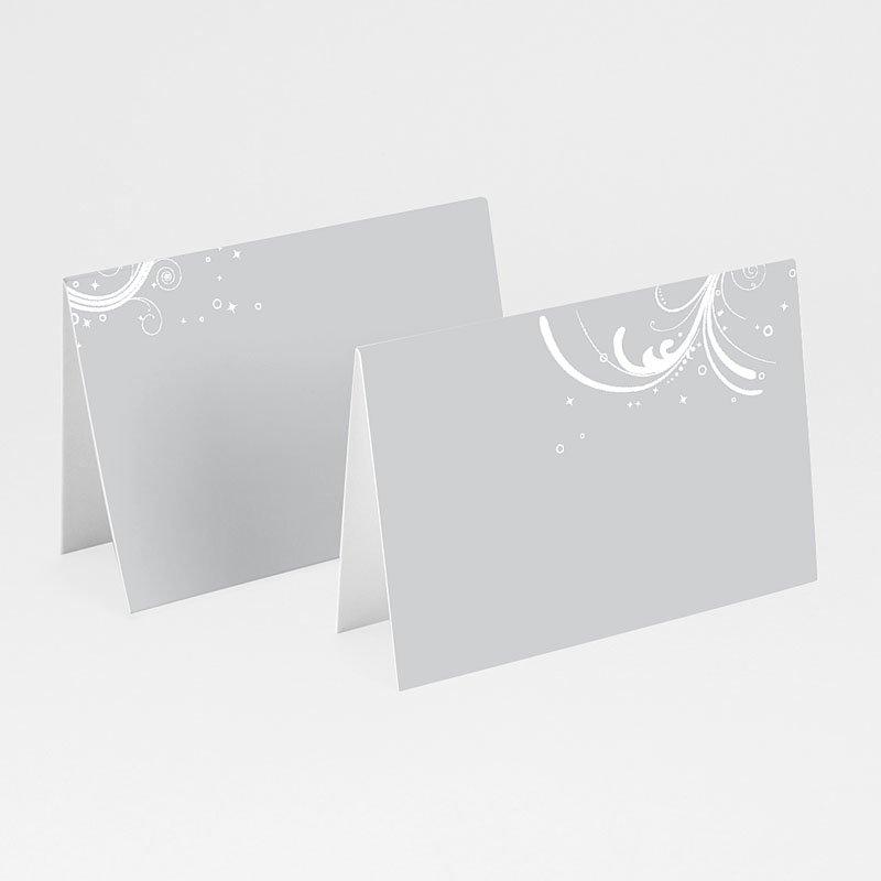Personaliseerbare plaatskaartjes voor verjaardag - Verzilverd 16001 thumb