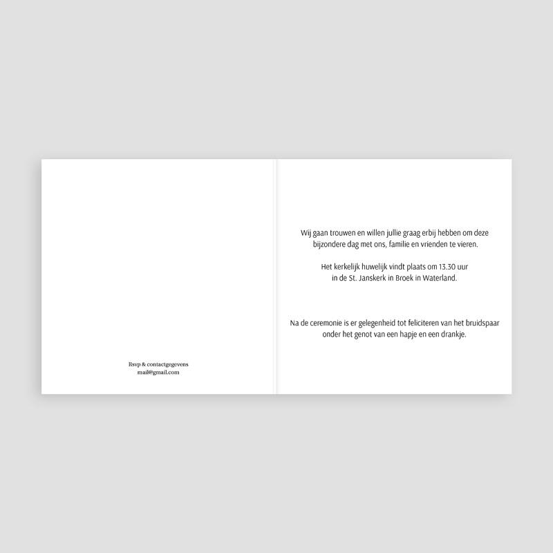 Trouwkaarten - Libellevlucht 16414 thumb