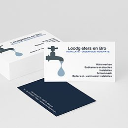 Visitekaart Professionnel Loodgieter