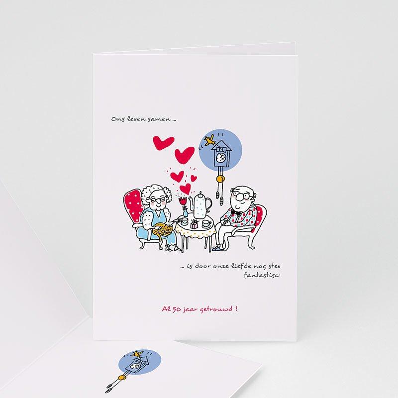 Jubileumkaarten huwelijk - 50 jaar liefde 17306 thumb