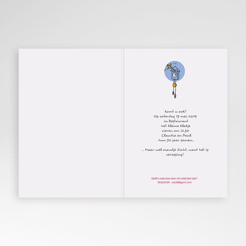 Jubileumkaarten huwelijk - 50 jaar liefde 17308 thumb
