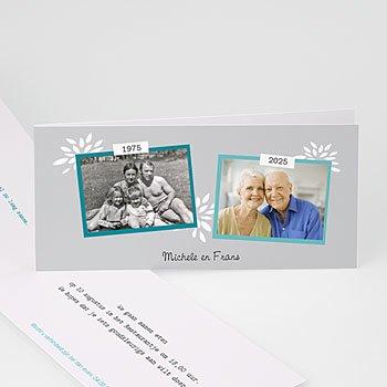Jubileumkaarten huwelijk - Al zo lang samen - 1
