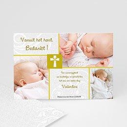 Bedankkaart doopviering jongen - Heilig Vormsel - - 1
