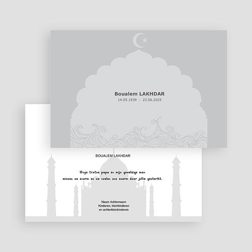 Islamistische Bedankkaartjes Overlijden deelneming Islam gratuit