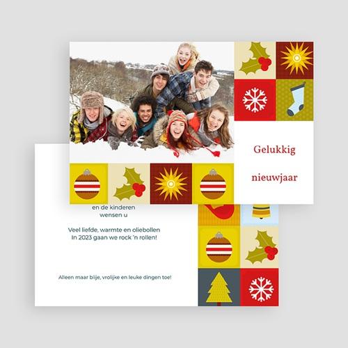 Kerstkaarten 2019 Kerststijl gratuit