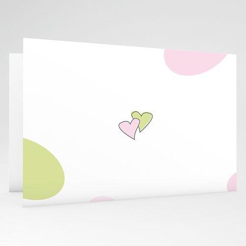 Trouwkaartjes zonder foto Speelse liefde gratuit