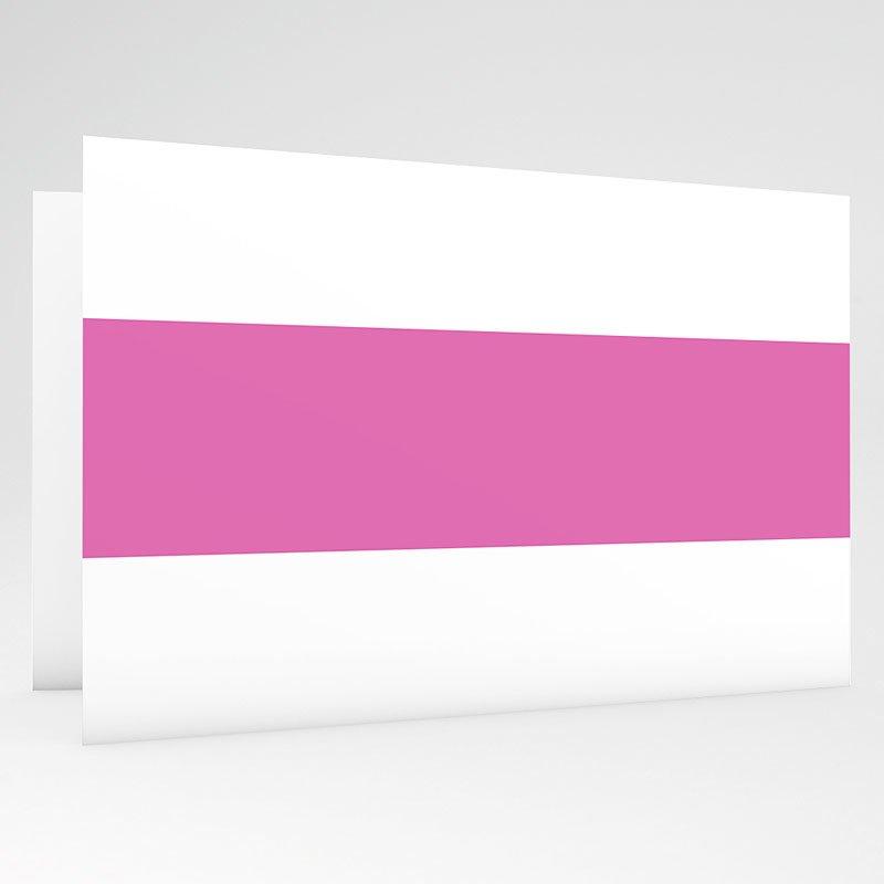 Geboortekaartjes Meisje Roze maan gratuit
