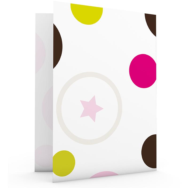 Geboortekaartje meisje - Ik wil bolletje, roze 18202 thumb