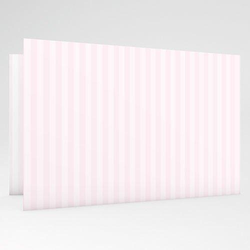 Geboortekaartje meisje - Roze poes 18204 thumb
