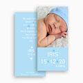 Geboortekaartje jongen Torenhoge knul gratuit