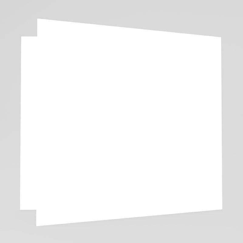 Trouwkaarten zonder Foto Roze orchidee gratuit