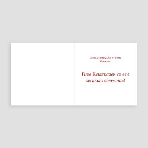 Kerstkaarten 2018 - Bonne année enneigée 18276 thumb