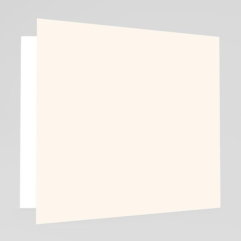 Trouwkaarten zonder Foto Hartgordijntje gratuit