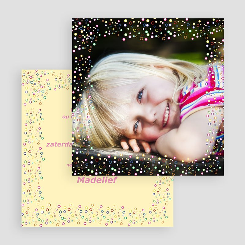 Verjaardagskaarten jongens - Ruimte confetti 18523 thumb