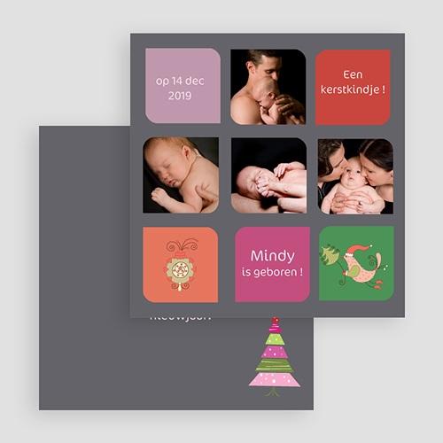 Kerstkaarten 2018 - Uw kindje zijn eerste kerstwens 18660 thumb
