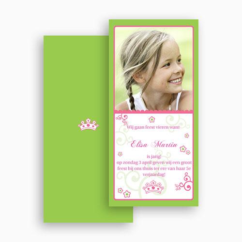 Verjaardagskaarten meisjes - Prinsesje 18951 thumb