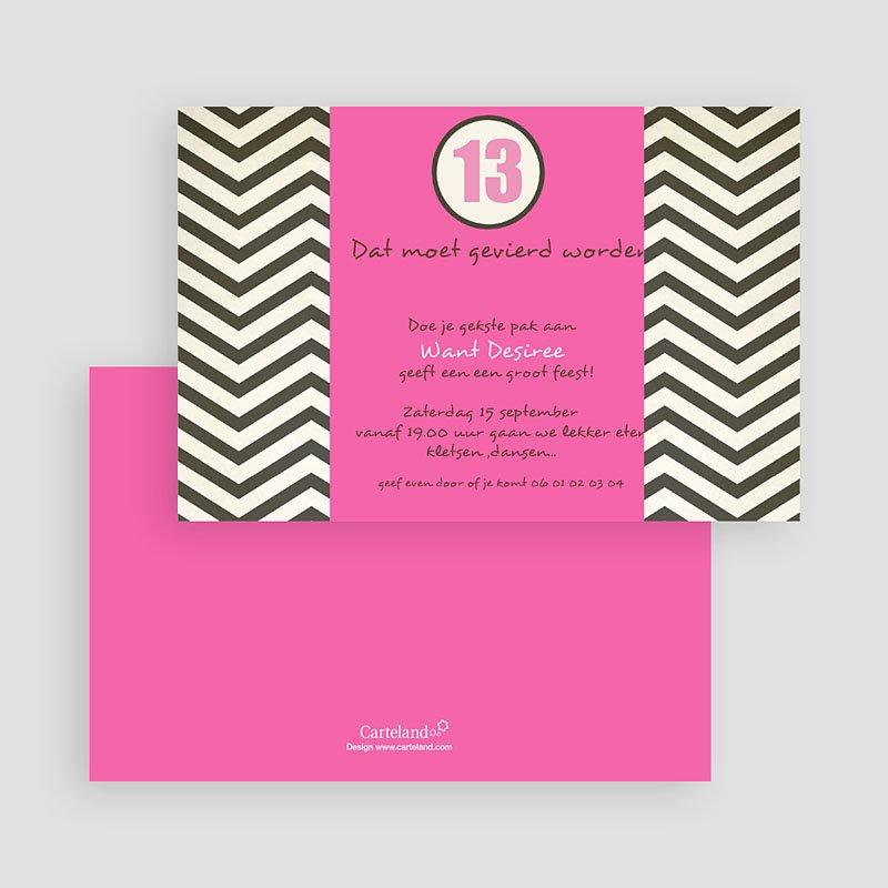 Verjaardagskaarten meisjes vrolijke uitnodiging, roze gratuit