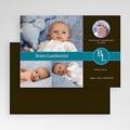 Geboortekaartje jongen - Nieuw uit de doos, blauw 19074 thumb