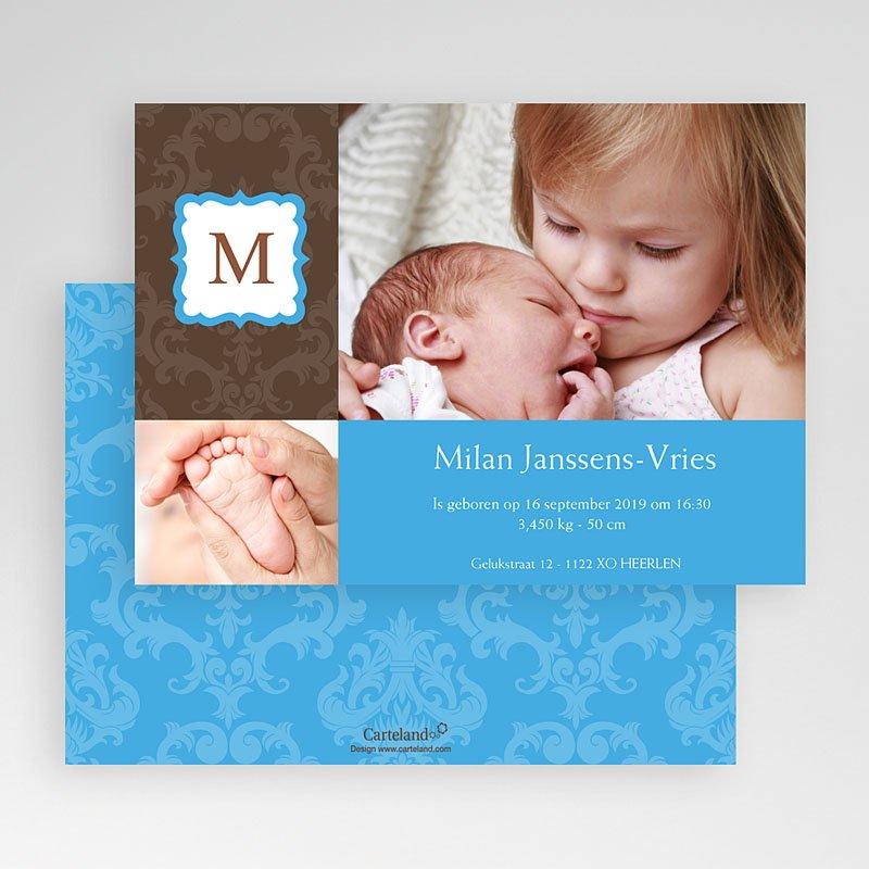 Geboortekaartjes Jongen born 2 design gratuit