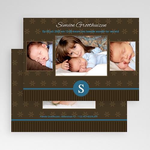 Geboortekaartje jongen - Prinselijk geschenk 19170 thumb
