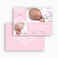 Bedankkaartje geboorte dochter - Roze dutch design 19209 thumb